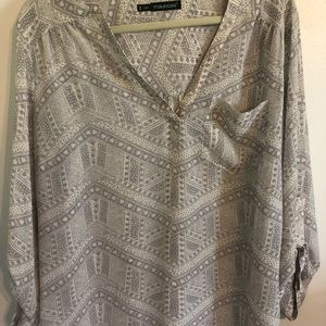 Maurice's plus size 2 sheer blouse